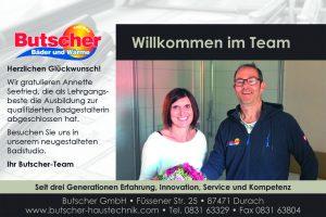 Willkommen Annette Seefried