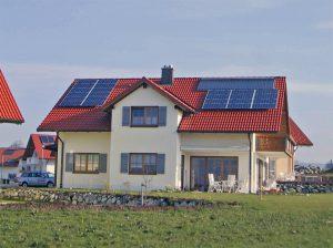Sonnenenenergiehaus